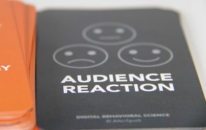 Audience Reaction Cards