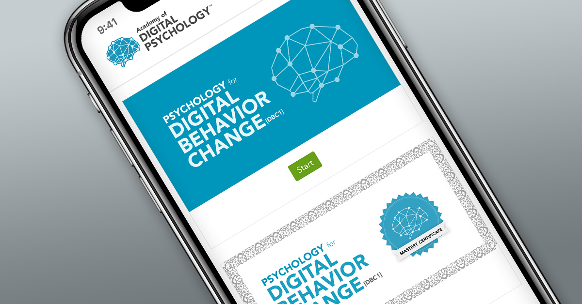 Psychology for Digital Behavior Change